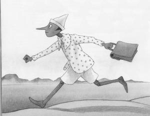 Pinocchio (illustrazione di Cecco Mariniello)